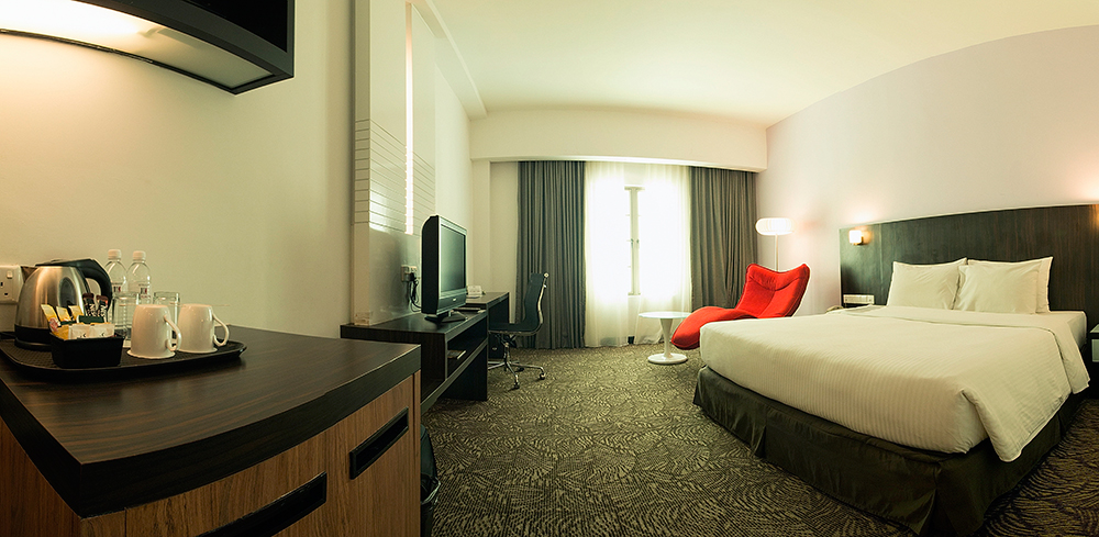 ザ・クラガンホテル(スーペリア)に泊まる コタキナバル 4泊6日 朝食・送迎付き・カード決済OK