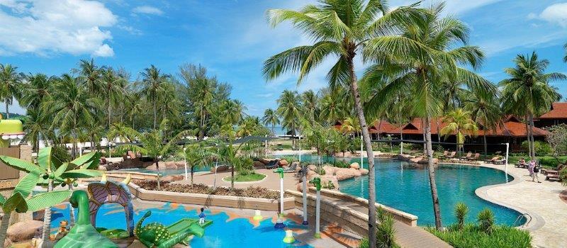 【ビーチも街も満喫のマレーシア2都市6日間♪】ランカウイ島 ペランギビーチリゾート&スパ(ガーデンテラス)2泊&クアラルンプール イスタナ(デラックス)2泊 4泊6日 朝食・送迎付き・カード決済OK