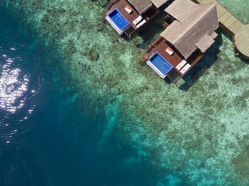 2017年にオープンのグランドパークコディバルモルジブ<Ocean Pool Water Villa>オールインクルーシブプラン利用!2018ワールド・ラグジュアリー・スパ・アワードを受賞! シンガポール航空で行く!モルディブ6日間 カード決済OK