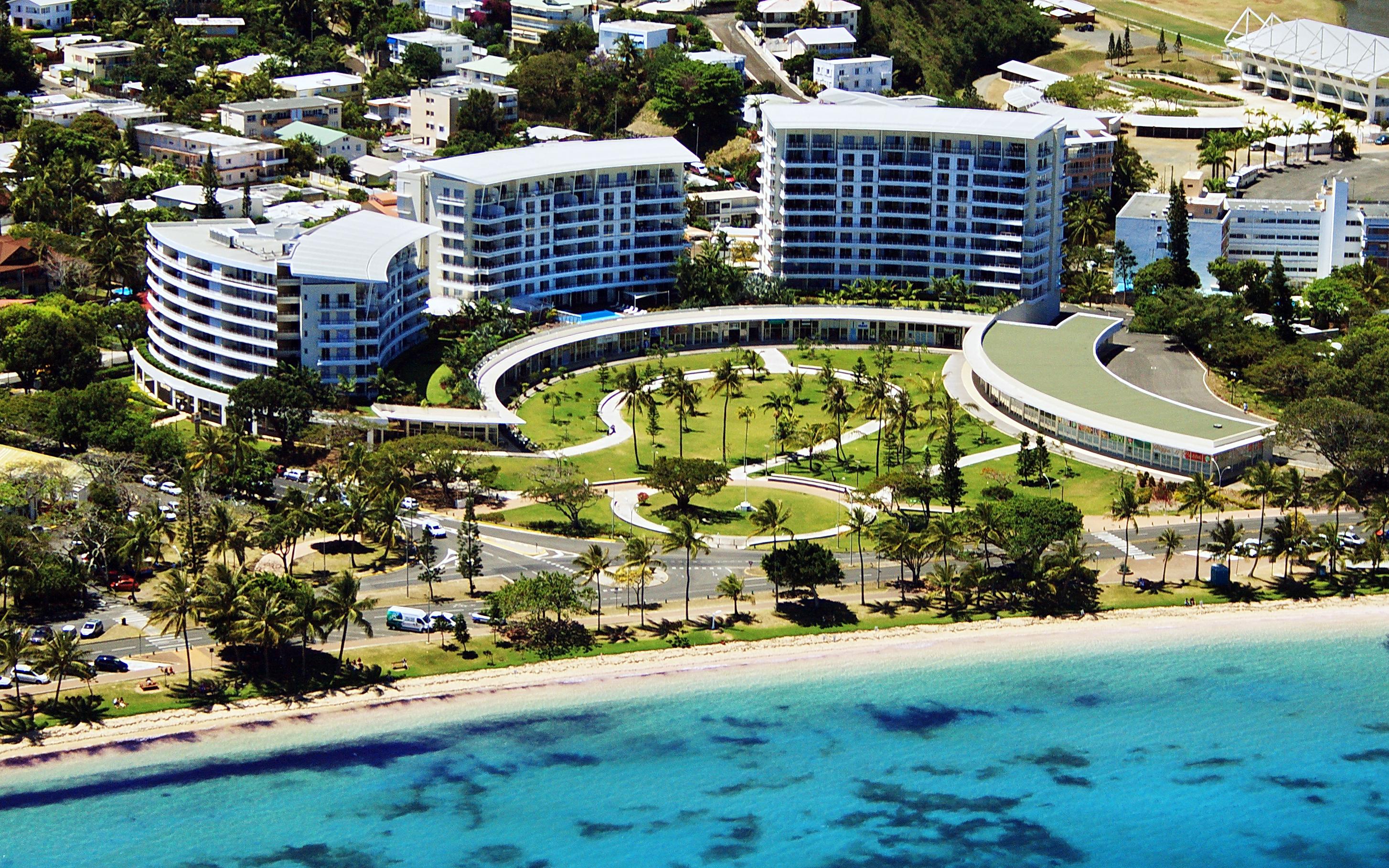 <早割り>直行便で行くリゾート!ニューカレドニア!<br />ヒルトン ヌメア ラ プロムナード レジデンス (Hilton Noumea La Promenade Residences) スタジオルーム利用 3泊5日