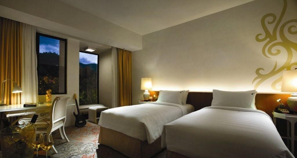 ハードロックホテル・ペナン(ヒルビューデラックス)に泊まる ペナン島 4泊6日 朝食・送迎付き・カード決済OK