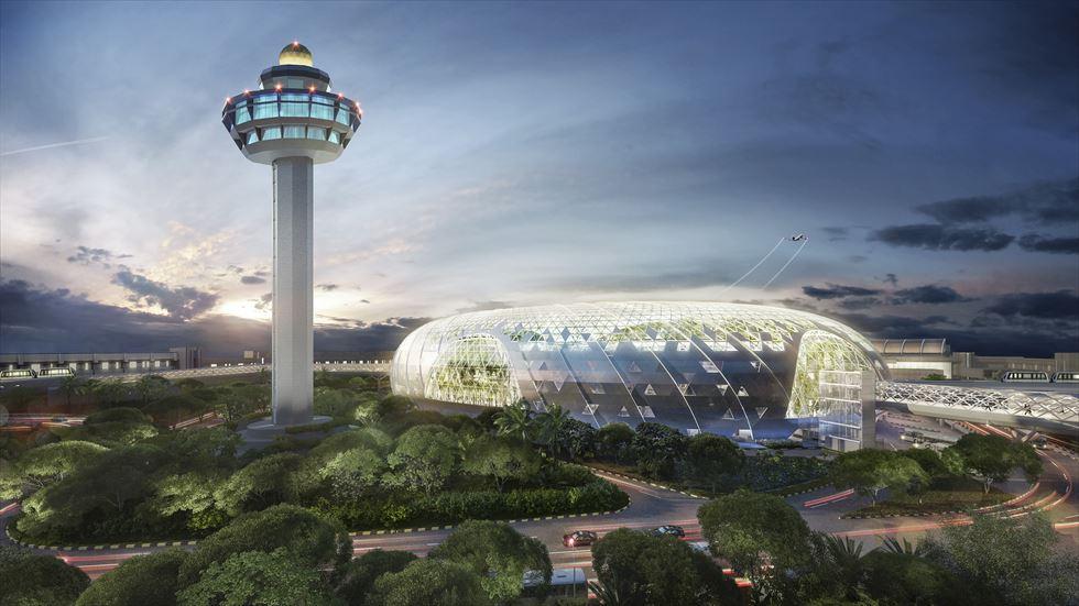 チャンギ空港注目の複合施設「Jewel」